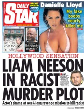 Daily Star (UK) Newspaper Front Page for 5 February 2019