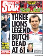 Daily Star (UK) Newspaper Front Page for 5 April 2018