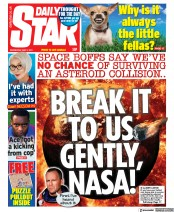 Daily Star front page for 5 May 2021