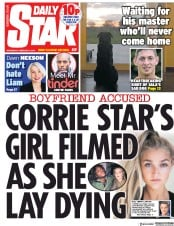 Daily Star (UK) Newspaper Front Page for 6 February 2019