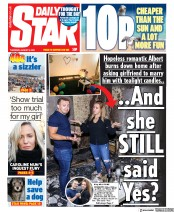 Daily Star front page for 6 August 2020