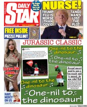 Daily Star front page for 7 October 2020