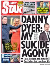 Daily Star (UK) Newspaper Front Page for 7 February 2019