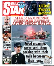 Daily Star front page for 7 May 2021