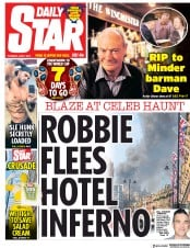 Daily Star (UK) Newspaper Front Page for 7 June 2018