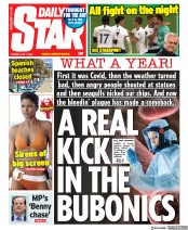 Daily Star front page for 7 July 2020
