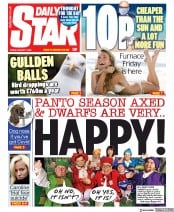 Daily Star front page for 7 August 2020