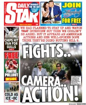 Daily Star front page for 8 March 2021
