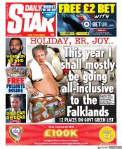 Daily Star front page for 8 May 2021