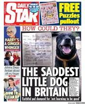 Daily Star front page for 8 July 2020