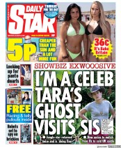 Daily Star front page for 8 August 2020