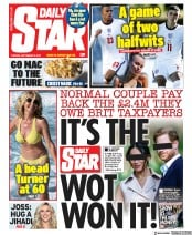 Daily Star front page for 8 September 2020