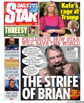 Daily Star front page for 9 October 2020