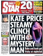 Daily Star (UK) Newspaper Front Page for 9 May 2017