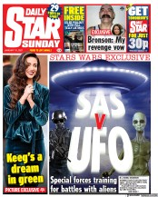 Daily Star Sunday front page for 10 January 2021
