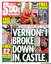 Daily Star Sunday front page for 6 December 2020