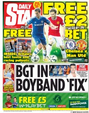 Daily Star Weekend (UK) Newspaper Front Page for 18 April 2015