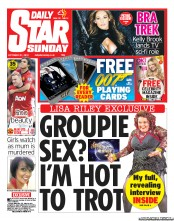 Daily Star Weekend () Newspaper Front Page for 21 October 2012