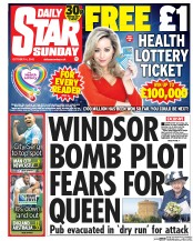 Daily Star Weekend (UK) Newspaper Front Page for 4 October 2015