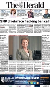 The Herald (UK) Newspaper Front Page for 28 July 2015