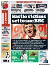 I Newspaper Newspaper Front Page (UK) for 13 October 2012