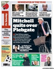 I Newspaper Newspaper Front Page (UK) for 20 October 2012