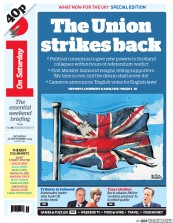 I Newspaper (UK) Newspaper Front Page for 20 September 2014