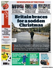 I Newspaper Newspaper Front Page (UK) for 24 December 2012