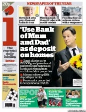 I Newspaper Newspaper Front Page (UK) for 24 September 2012