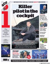 I Newspaper (UK) Newspaper Front Page for 27 March 2015