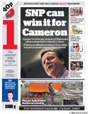 I Newspaper (UK) Newspaper Front Page for 28 April 2015