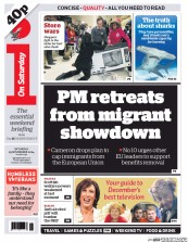 I Newspaper (UK) Newspaper Front Page for 29 November 2014