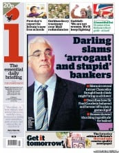 I Newspaper (UK) Newspaper Front Page for 2 September 2011