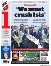 I Newspaper (UK) Newspaper Front Page for 30 June 2015