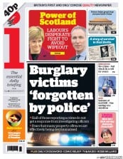I Newspaper (UK) Newspaper Front Page for 3 March 2015