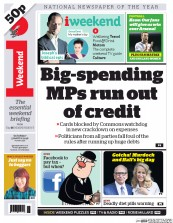 I Newspaper (UK) Newspaper Front Page for 5 March 2016