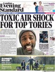 London Evening Standard (UK) Newspaper Front Page for 10 May 2017