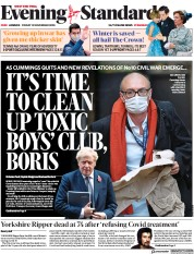 London Evening Standard front page for 16 November 2020