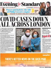 London Evening Standard front page for 1 December 2020