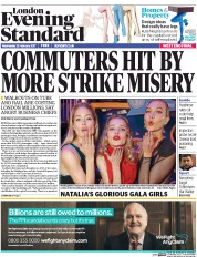 London Evening Standard (UK) Newspaper Front Page for 23 February 2017