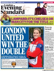 London Evening Standard (UK) Newspaper Front Page for 23 September 2014
