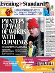 London Evening Standard front page for 28 April 2021