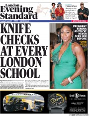 London Evening Standard (UK) Newspaper Front Page for 28 June 2017