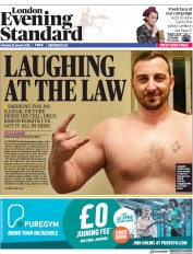 London Evening Standard (UK) Newspaper Front Page for 30 January 2018