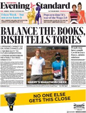 London Evening Standard front page for 6 October 2020