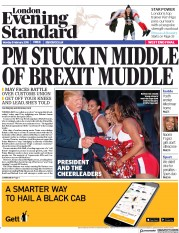 London Evening Standard (UK) Newspaper Front Page for 6 February 2018