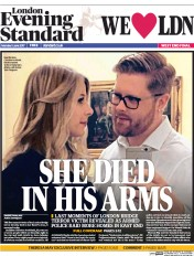 London Evening Standard (UK) Newspaper Front Page for 6 June 2017