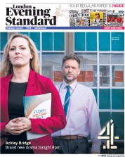London Evening Standard (UK) Newspaper Front Page for 8 June 2017