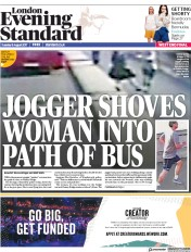 London Evening Standard (UK) Newspaper Front Page for 9 August 2017