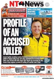 NT News Newspaper Front Page (Australia) for 29 June 2012